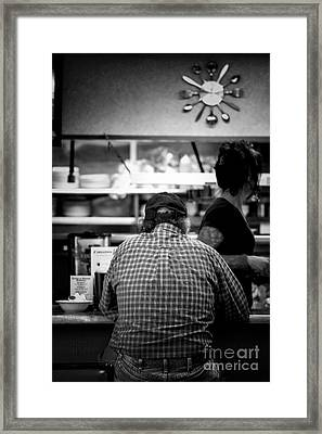 Diner Regular Framed Print