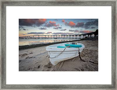 Dinghy I Framed Print by Peter Tellone