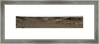 Dingo Gap Framed Print by Nasa/jpl-caltech/msss