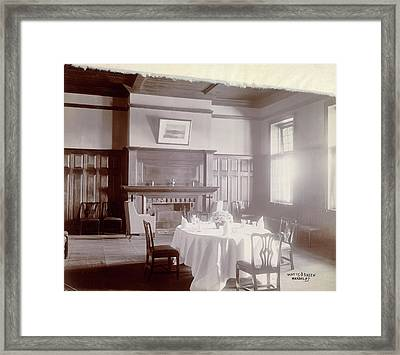 Dining Room Framed Print by British Library