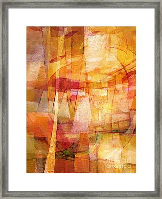 Dining Room Framed Print by Lutz Baar
