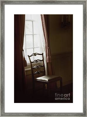 Dining Room Window Framed Print by Margie Hurwich