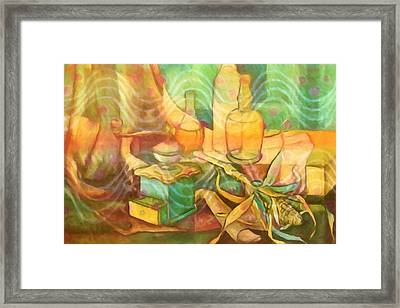Diningroom Stillife Framed Print by Lutz Baar