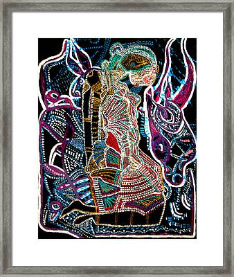Dinka Bride Framed Print by Gloria Ssali