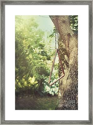 Dinner Bell Framed Print by Kay Pickens