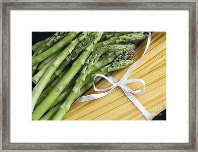 Dinner Ingredients Framed Print by Charlotte Lake
