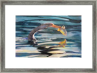 Dinner Framed Print by Kitty Harvill
