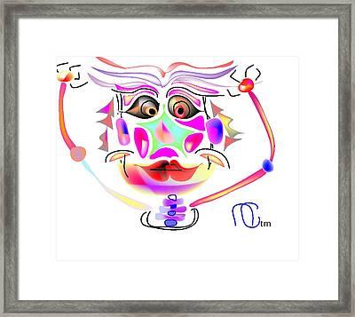 Dinner Theater Framed Print