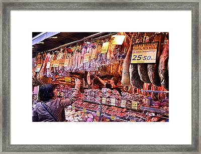 Dinner Tonight Framed Print