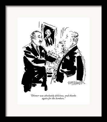State Dinners Framed Prints