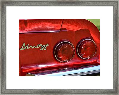 Framed Print featuring the photograph Dino Gt by Dean Ferreira