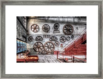 Dinorwig Quarry Workshop Framed Print by Adrian Evans