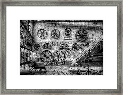 Dinorwig Quarry Workshop V2 Framed Print by Adrian Evans