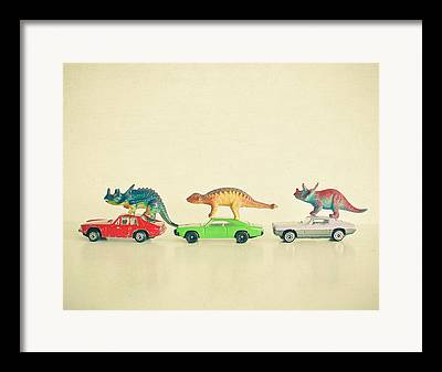 Toy Car Framed Prints