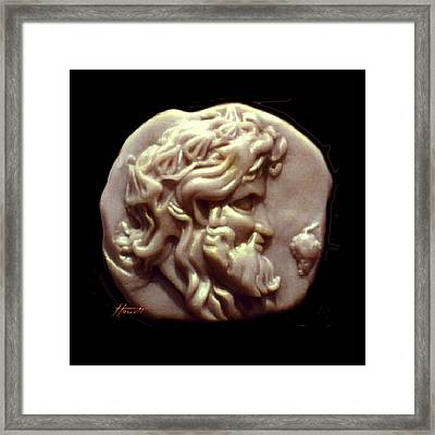 Dionysus Framed Print by Patricia Howitt