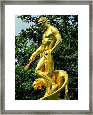 Dionysus Right Framed Print by Randall Weidner