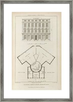 Diorama Framed Print by British Library