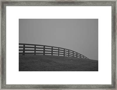 Dip Framed Print