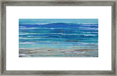 Dip In The Sea      Framed Print