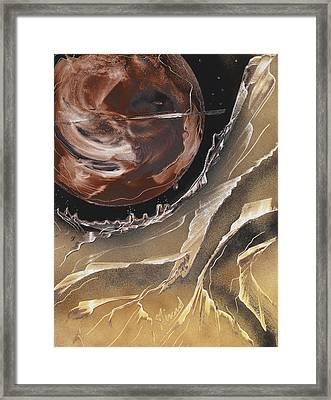 Dipper Framed Print