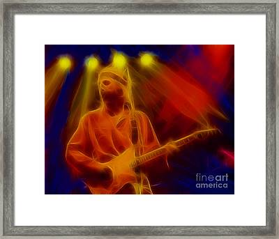 Dire Straits-4-fractal Framed Print by Gary Gingrich Galleries