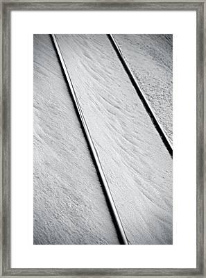 Direction Framed Print by Odd Jeppesen