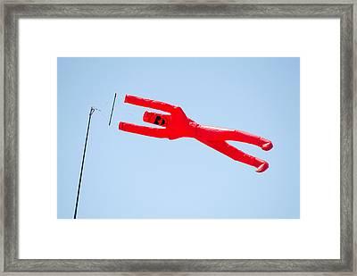 Direction Of Wind Framed Print