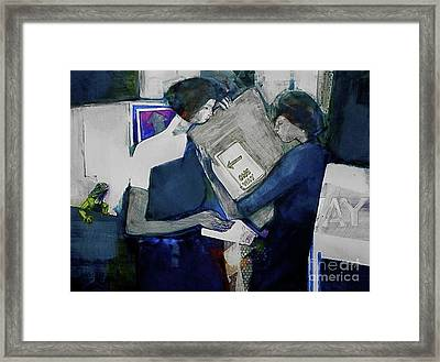 Directions Framed Print by Helen Hayes