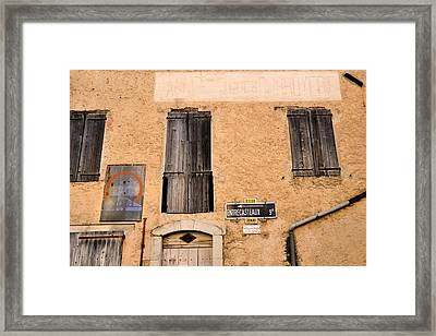 Directions Framed Print by Mateo Brigande