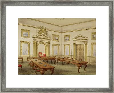 Director's Room Framed Print by British Library