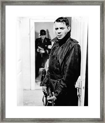 Dirk Bogarde In La Caduta Degli Dei  Framed Print by Silver Screen