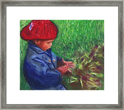 Dirt Is Fascinating Framed Print