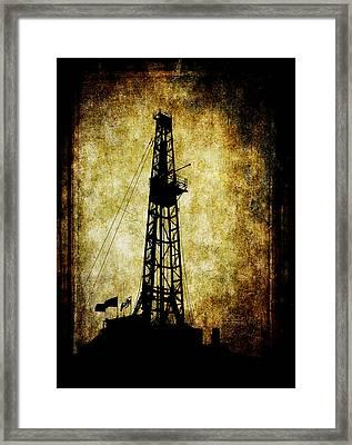 Dirty Derrick Framed Print by Daniel Hagerman
