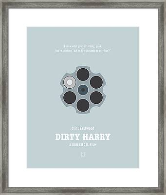 Dirty Harry Framed Print by Smile In The  Mind