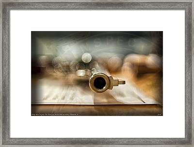 Dirty Harry's 44 Magnum Framed Print by Gary Warnimont