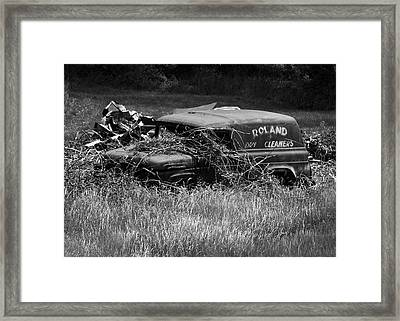 Framed Print featuring the photograph Dirty Laundry by Rebecca Sherman