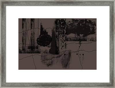 Dirty Look Framed Print by Phillip J Gordon