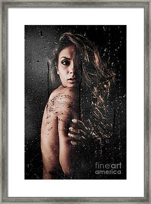 Dirty Shower Framed Print by Jt PhotoDesign