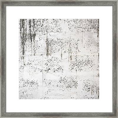 Dirty White Wall Framed Print by Dutourdumonde Photography