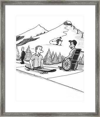 Disability Ability Framed Print by Lee Serenethos