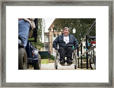 Disabled Access Framed Print