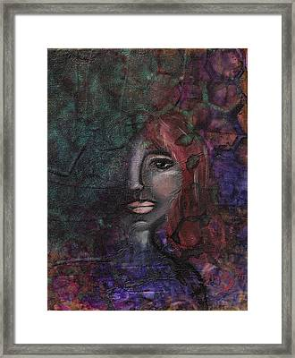 Disappearance Of Sophie Framed Print by Donna Blackhall