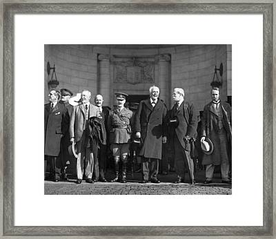 Disarmament, 1921 Framed Print by Granger