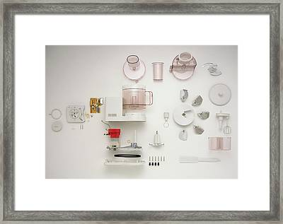 Disassembled Food Processor Framed Print