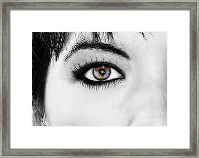 Discernment Framed Print by Ester  Rogers