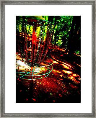 Discin Colors Framed Print