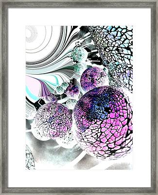 Framed Print featuring the digital art Disco 2 by Nico Bielow