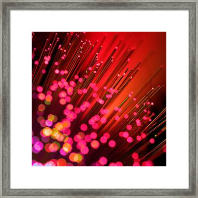 Framed Print featuring the photograph Disco Inferno by Dazzle Zazz