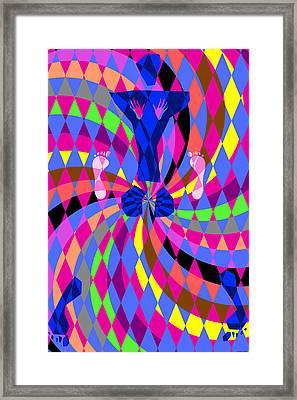 Disco Luvin Framed Print