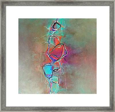 Disconnected Framed Print by Katie Black